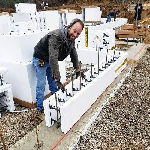 3-Stronghold-ICF-Insulated-Concrete-Forms-ICF-Block-Install